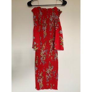 HMS floral dress